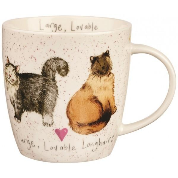 CC Lovable longhairs hrnek porcelán zn. Churchill