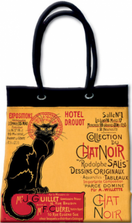 Taška shopper- Chat Noir Drouot